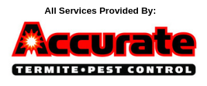 services provided by Accurate Termite Pest Control